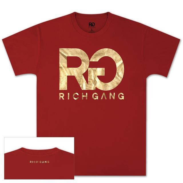 Rich Gang Gold Foil T-Shirt