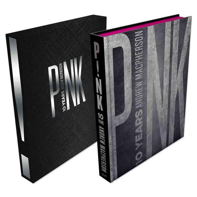 Pink P!nk 10 Years Book