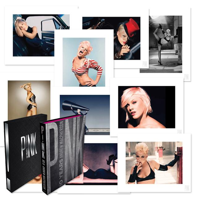 Pink P!nk 10 Years Book with High-Quality Print Set