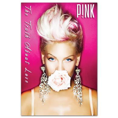 Pink P!nk Rose Poster