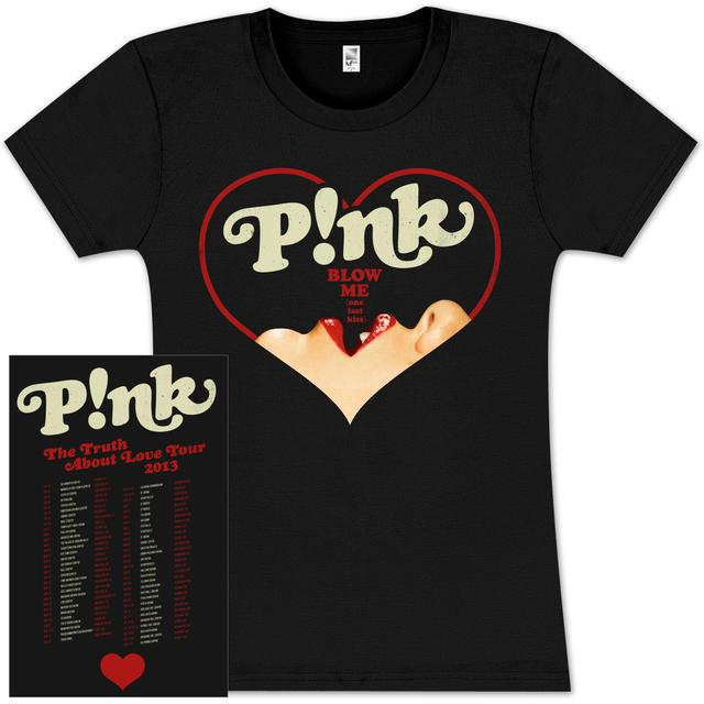 Pink P!nk Blow Heart Jr Tour T-Shirt