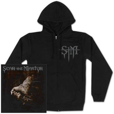 Scar The Martyr STM Nail Fist Hoodie