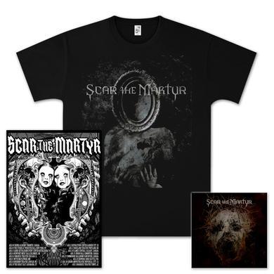 Scar The Martyr CD/T-Shirt/Poster Bundle