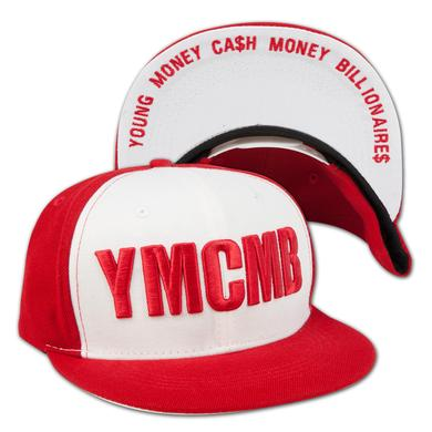 YMCMB Color Block Logo Snapback Hat