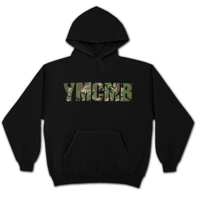 YMCMB Camo Logo Pullover Hoodie