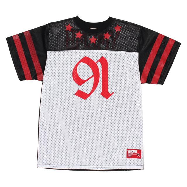 YMCMB Half Time Jersey (Black/White/Red)