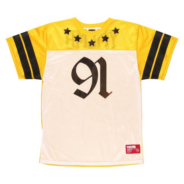YMCMB Half Time Jersey (Yellow/White/Black)