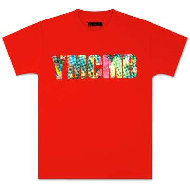 YMCMB Pixelated T-Shirt In Molten Lava