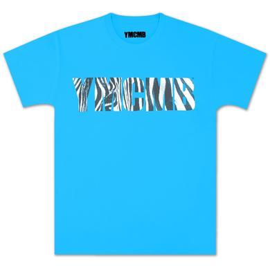 Zebra YMCMB T-Shirt In Blue Mist