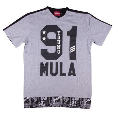 YMCMB Double Cross Cut & Sew T-Shirt