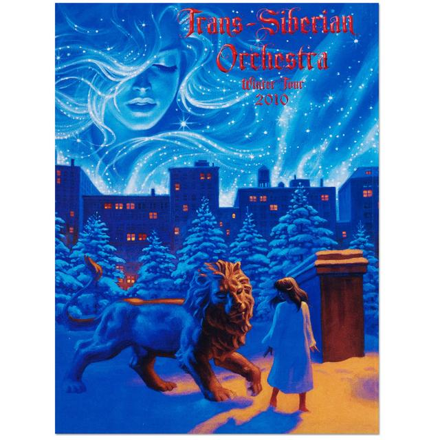 Trans-Siberian Orchestra TSO 2010 Winter Tour Program - West