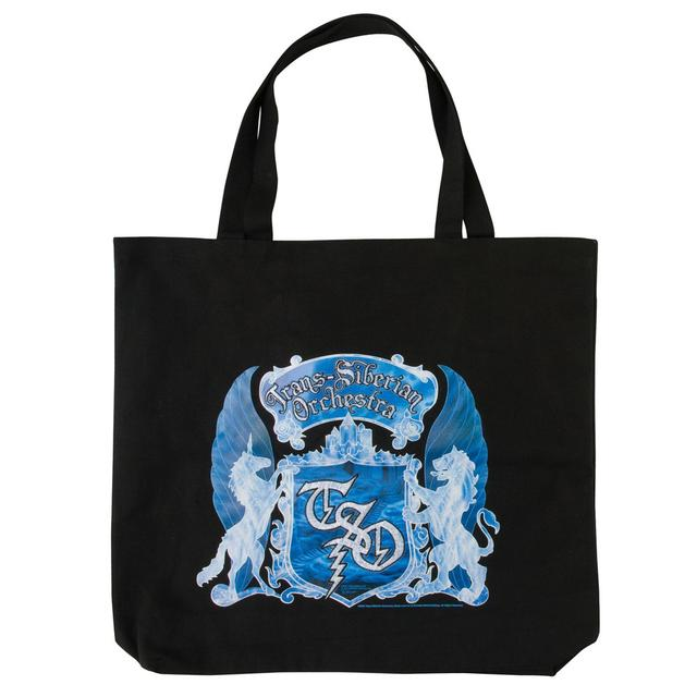 Trans-Siberian Orchestra Lion Crest Tote Bag