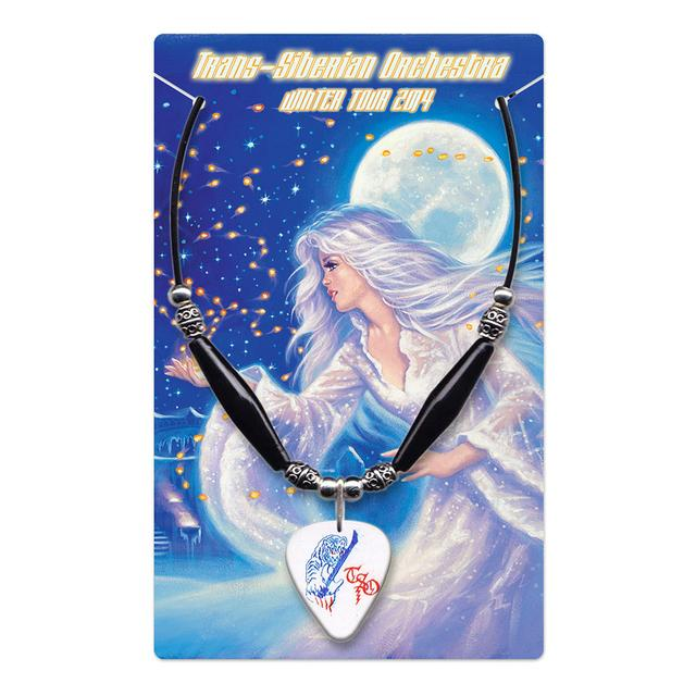 Trans-Siberian Orchestra TSO Guitar Pick Necklace