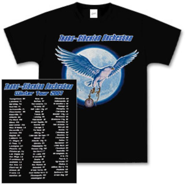 Trans-Siberian Orchestra Hawk 2007 Tour T-Shirt