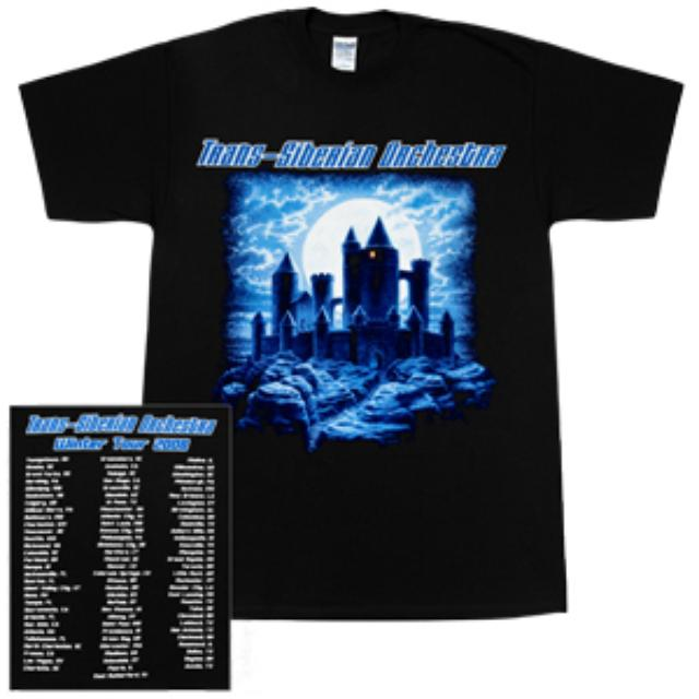 Trans-Siberian Orchestra Night Castle 2008 Tour T-Shirt