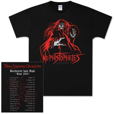 Trans-Siberian Orchestra Mephistopheles 2010 Tour T-Shirt