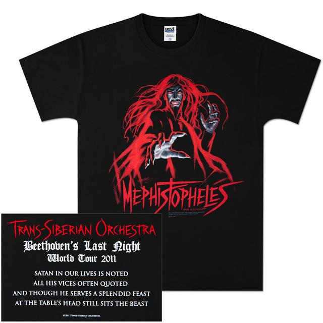 Trans-Siberian Orchestra Mephistopheles 2011 Tour T-Shirt