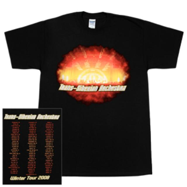 Trans-Siberian Orchestra Pyro Tour T-Shirt