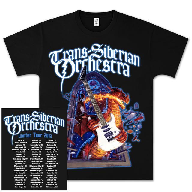 Trans-Siberian Orchestra Dragon Tour T-Shirt