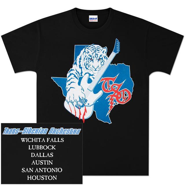 Trans-Siberian Orchestra Texas Event T-Shirt