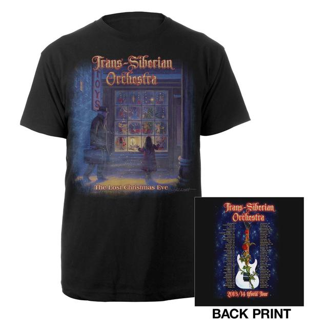 Trans-Siberian Orchestra 2013-2014 Lost Chirstmas Eve Tour Tee