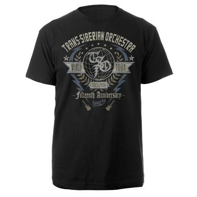 Trans-Siberian Orchestra 15th Anniversary Tee