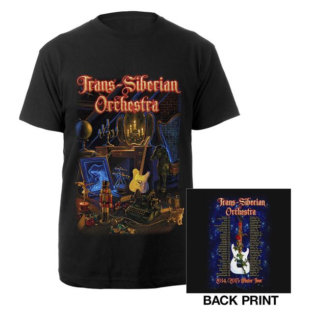 Trans-Siberian Orchestra 2014-2015 Toys In The Attic Tour Tee