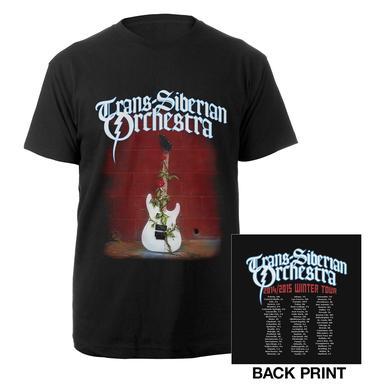 Trans-Siberian Orchestra 2014-2015 Guitar Logo Tour Tee