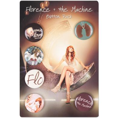 Florence and The Machine Flo Button Pack