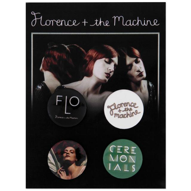 Florence and The Machine Ceremonials Badge Set