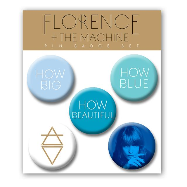 Florence and The Machine Pin Badge Set