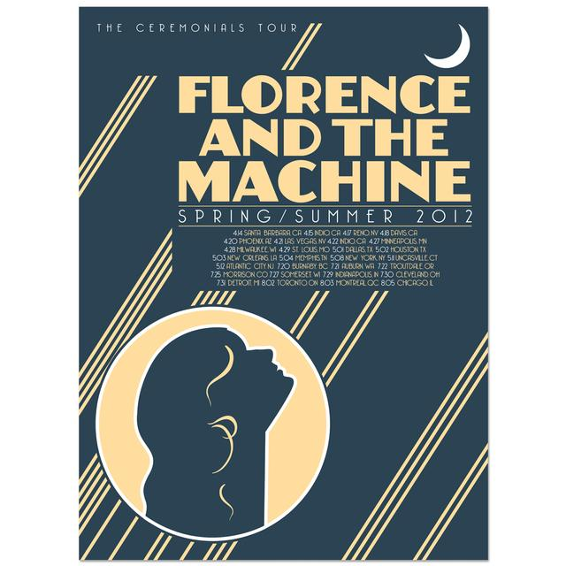 Florence and The Machine Tour Poster