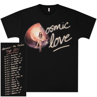 Florence and The Machine Cosmic Love 2011 Tour T-Shirt