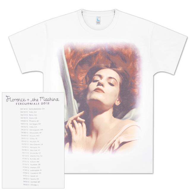 Florence and The Machine Portrait Tour White T-Shirt