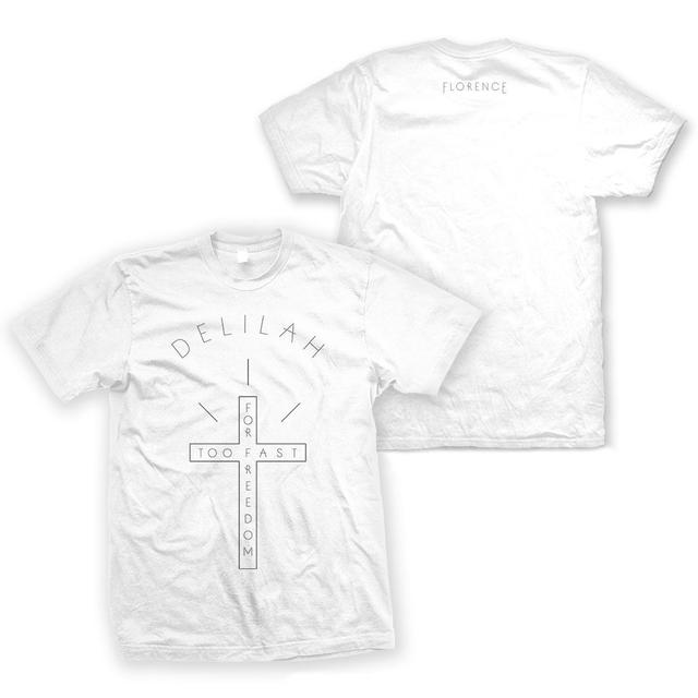 Florence and The Machine Delilah White Tee