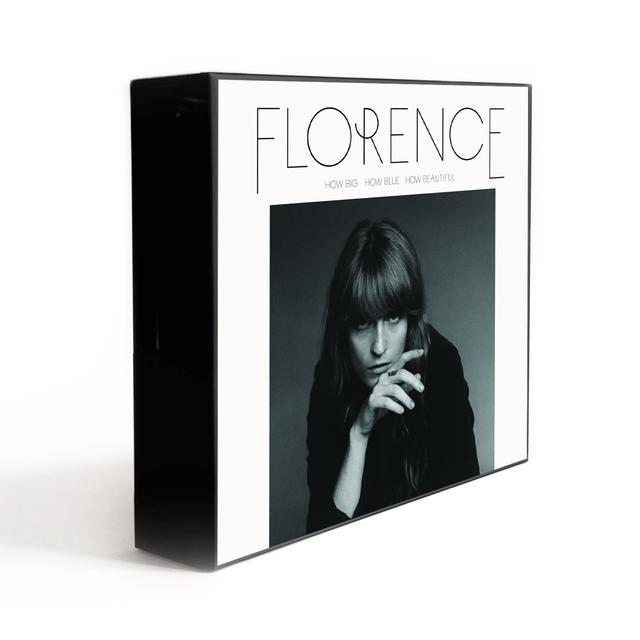 "Florence and The Machine How Big, How Blue, How Beautiful 7"" Vinyl Collector's Box"