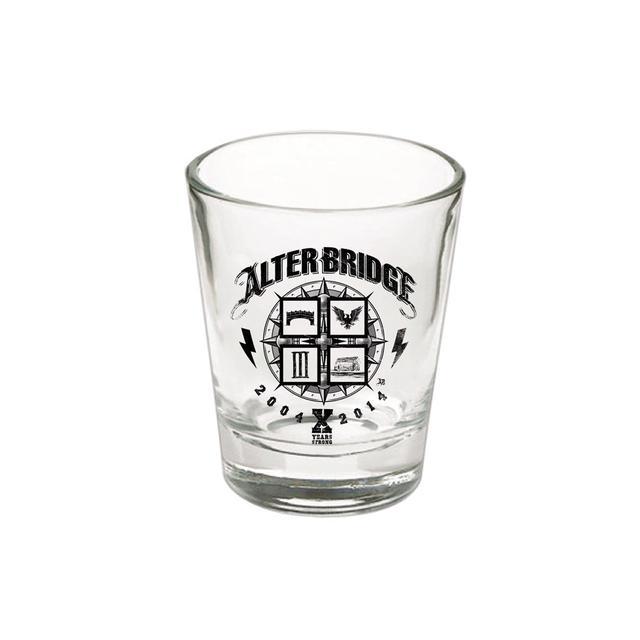 Alter Bridge 10 Years Shot Glass