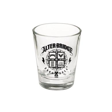 Alter Bridge 10 Years Shot Glass