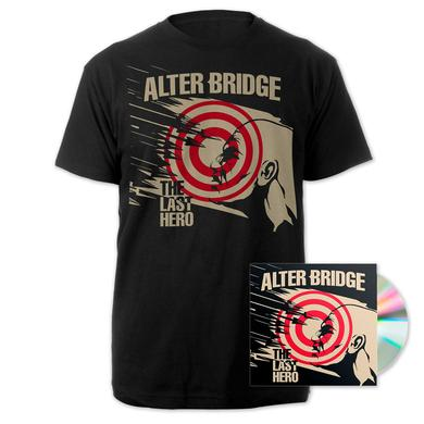Alter Bridge The Last Hero CD + Tee Bundle