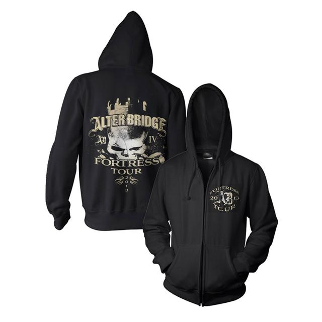 Alter Bridge Fortress Zip-Up Hoodie