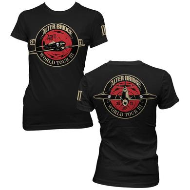 "Alter Bridge """"Plane"""" Ladies Tee"