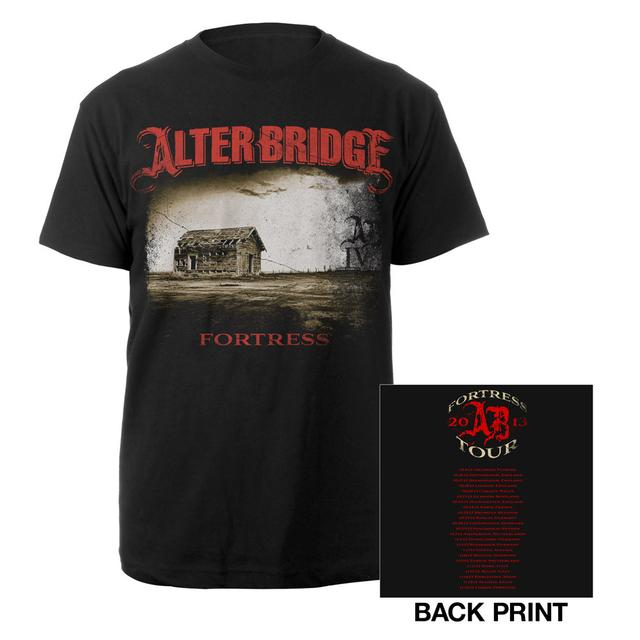 Alter Bridge Fortress Album Cover Tour Tee