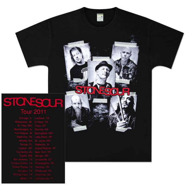 Stone Sour Photo 2011 Tour T-Shirt