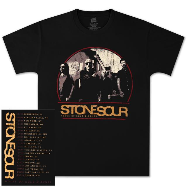 Stone Sour Photo Crest Tour T-Shirt