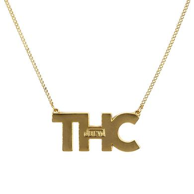 Juicy J THC Gold Plated Necklace