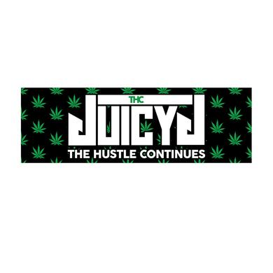Juicy J The Hustle Continues Sticker