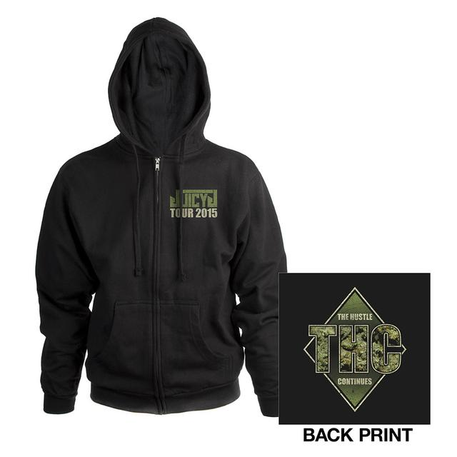 Juicy J THC Zip Hoody