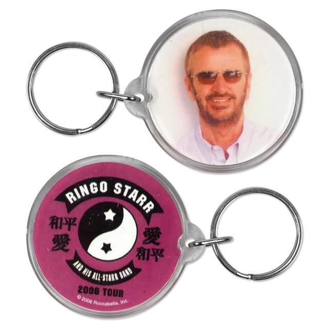 Ringo Starr Photo Keychain