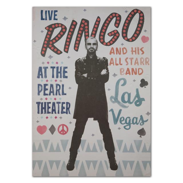 Ringo Starr Vegas Event Poster