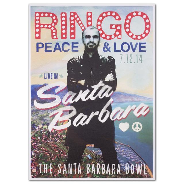 Ringo Starr Santa Barbara Event Poster